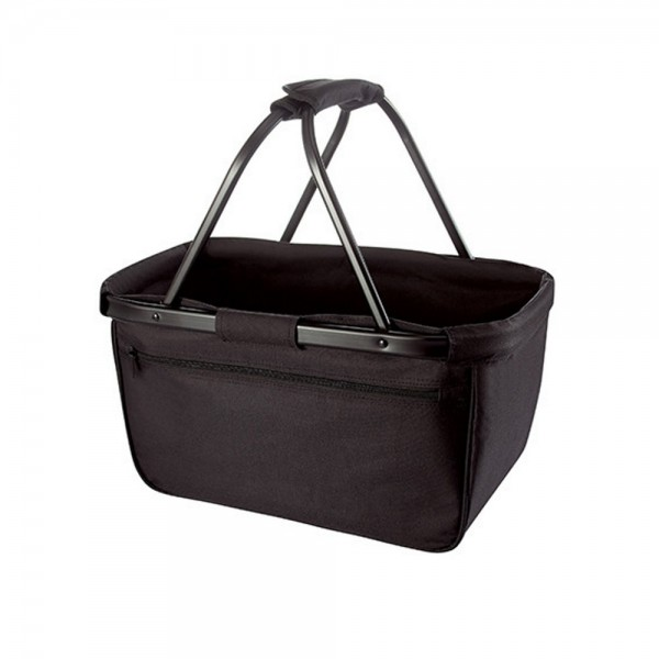 Halfar Einkaufskorb Korb Tasche Shopper Basket Blackbasket