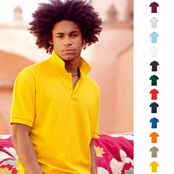 Premium Poloshirt Polo Fruit of the loom Polohemd Shirt S M L XL XXL 3XL