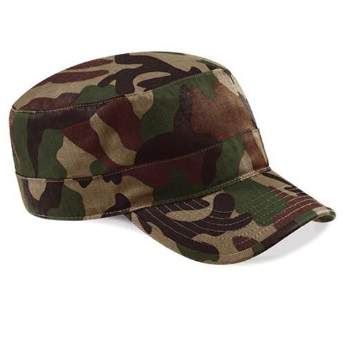 Camouflage Army Cap Military Kuba Kappe Basecap Beechfield