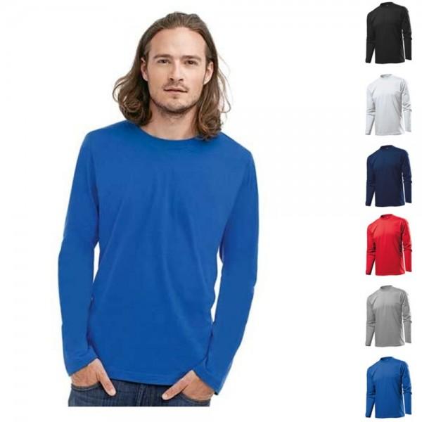 Stedman Classic Long Sleeve Longsleeve Langarm Lang T-Shirt Shirts Größe S-XXL