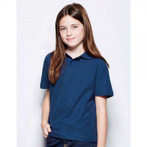 Kinder Junge Mädchen Poloshirt Polo-Shirt Polohemd Shirts Stedman Kids 116-164