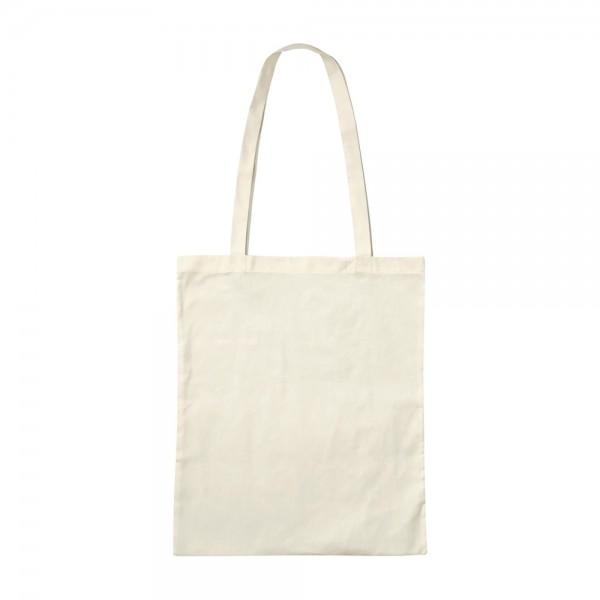 10 x Premium Baumwolltaschen 38x42 cm Taschen lange Griffe Henkel Natur Oeko-Tex