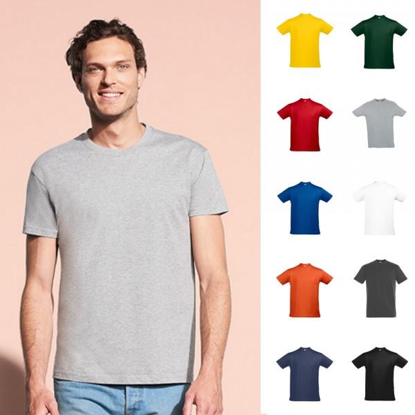 Sols Sol´s Herren Imperial T-Shirt 190g/qm Shirt Mann Men Rundhals Größe S - 5XL