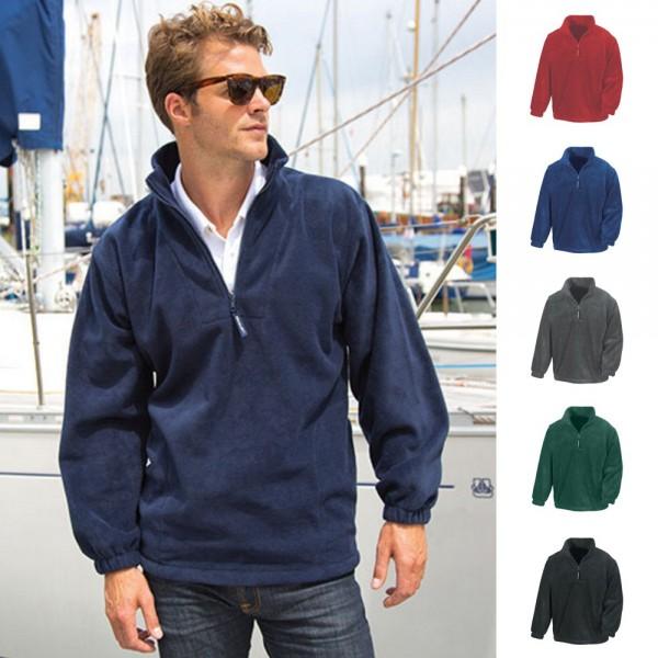 Active Fleece Top Sweat Swetshirt Pulli Pullover Resultt S M L XL XXL