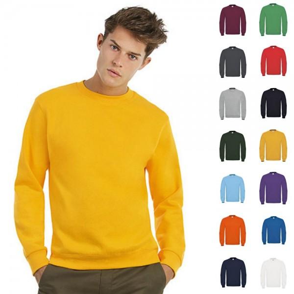 Herren Mann Men B&C Sweat Sweatshirt Shirt Pulli Pullover Sweater ID.002 bis 4XL