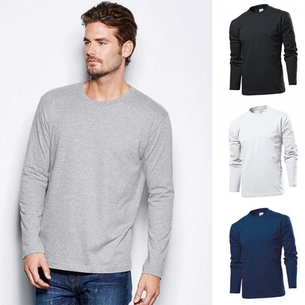 Herren Mann Stedman Comfort Longsleeve Langarm Langarmshirt T-Shirt ST2130