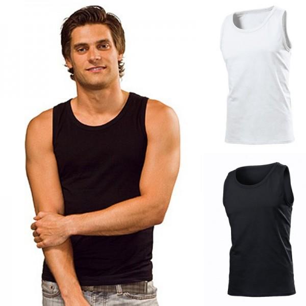 Stedman Classic Tank Top Shirt T-Shirt Muskelshirt Tanktop Ärmellos Herren Mann