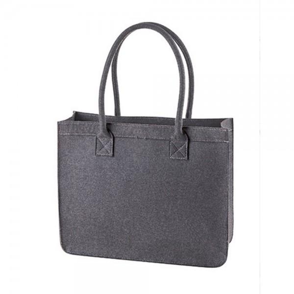 Halfar Filz Einkaufstasche Freizeit Tragetasche City Shopper Modern Classic