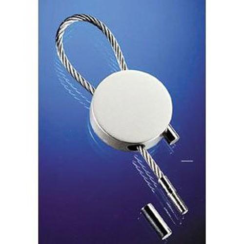 Design Schlüsselanhänger Schlüssel Anhänger Rund Metall mit Drahtseil