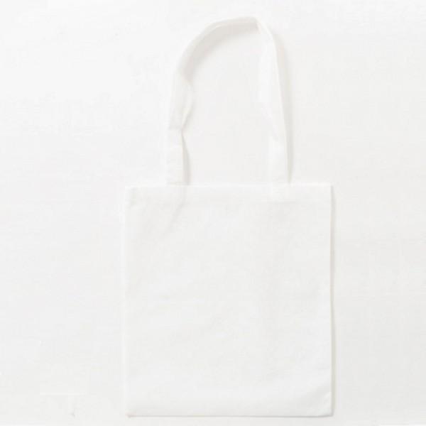 10x Baumwolltasche Beutel Lange Henkel 38X42 CM Stofftasche Tragetasche weiß