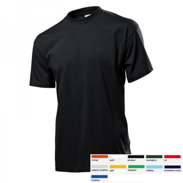 5 x Stedman Basic T-Shirts Shirts Classic 5er SET Größe S-3XL 11 Farben ST2000