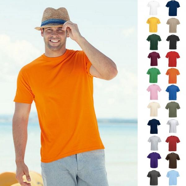 Herren Mann Men T-Shirt Shirts Fruit of the loom Value Valueweight T S-5XL