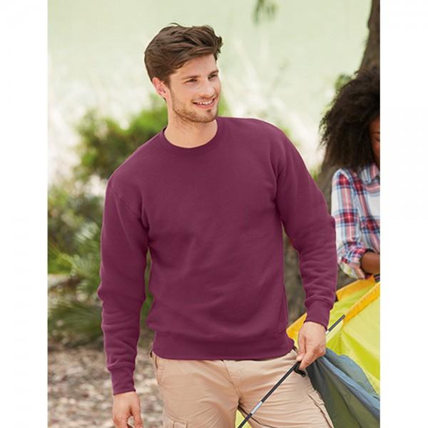 Fruit of the loom Herren Premium Sweatshirt Pullover Pulli Set-In Sweat 70/30